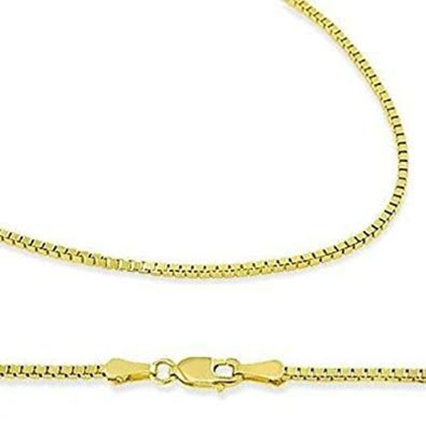 Picture of 14k Yellow Gold Solid 1.1mm
