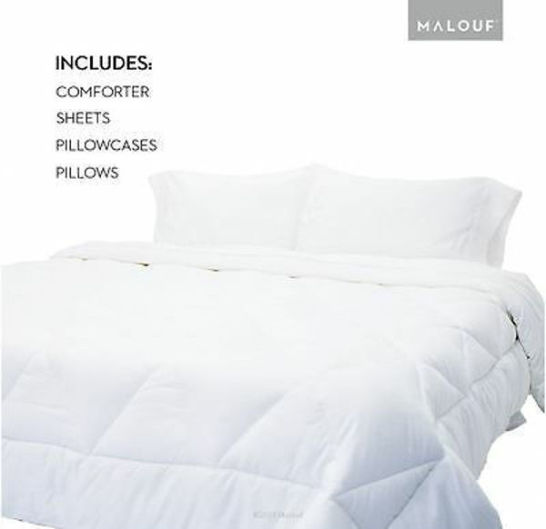 Picture of ALL WHITE QUEEN BED IN