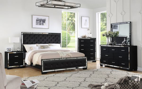 Picture of ANZELL BLACK DRESSER