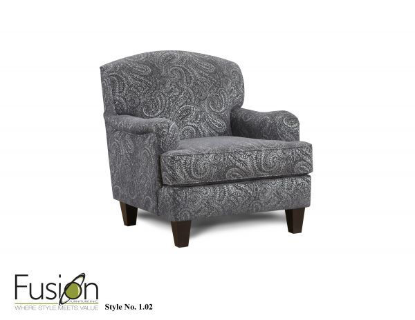 Picture of BONO COBALT ACCENT CHAIR