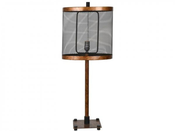 Picture of WEBSTER TABLE LAMPSET METAL