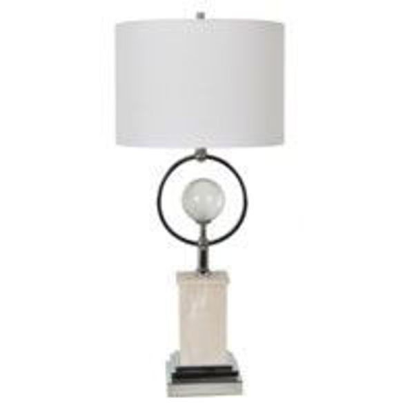 Picture of Seneca Table Lampset Alabaster