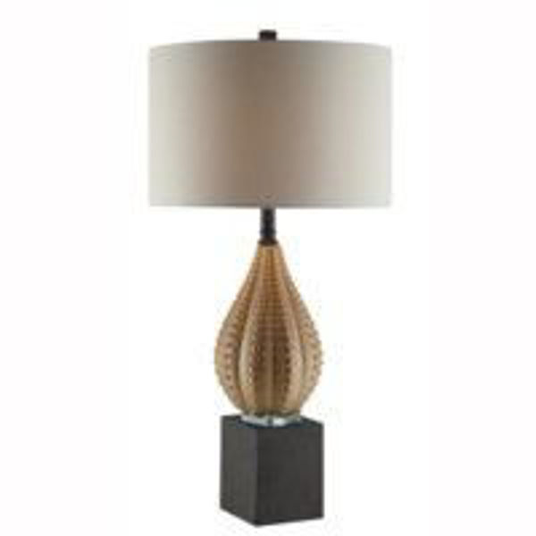 Picture of ORACLE KHAKI TABLE LAMPSET