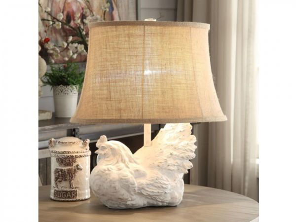 Picture of ROOSTER TABLE LAMP SET