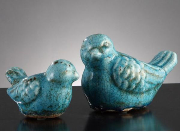 Picture of BLUE WARBLER STATUES 3.5
