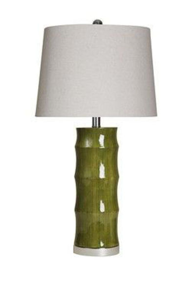 Picture of MOSS GREEN NATURAL BAMBOO