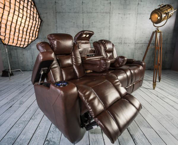 Picture of TRANSFORMER POWER SOFA BROWN