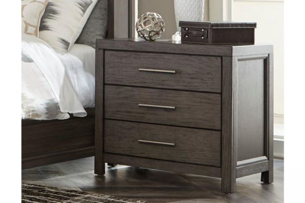 Picture of FONDREN GRAY NIGHT STAND