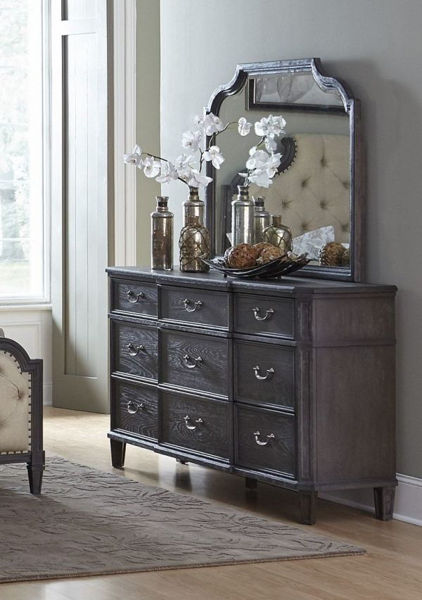 Picture of LINDLEY GRAY MIRROR