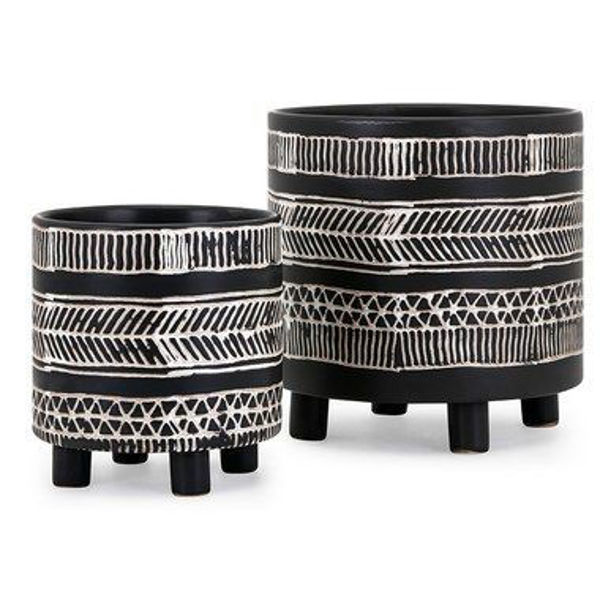 Picture of AYRTON PLANTERS SET OF 2
