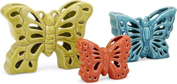 Picture of DENNA CERAMIC BUTTERFLIES-
