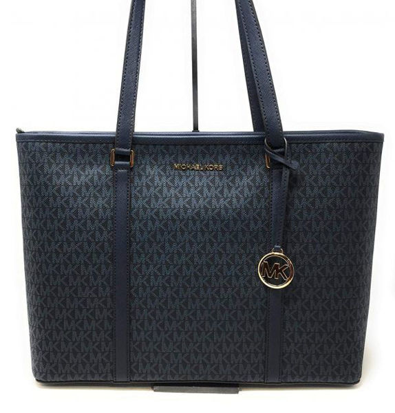 Picture of SADY XL LEATHER TOTE HANDBAG