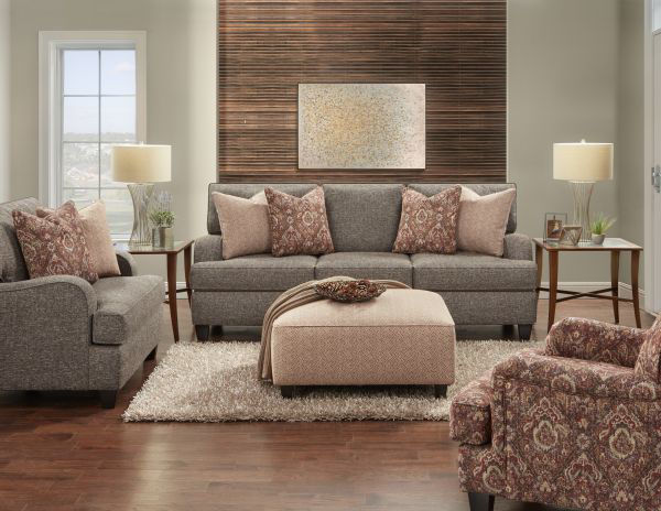 Picture of 4250 BARNABAS WALNUT SOFA