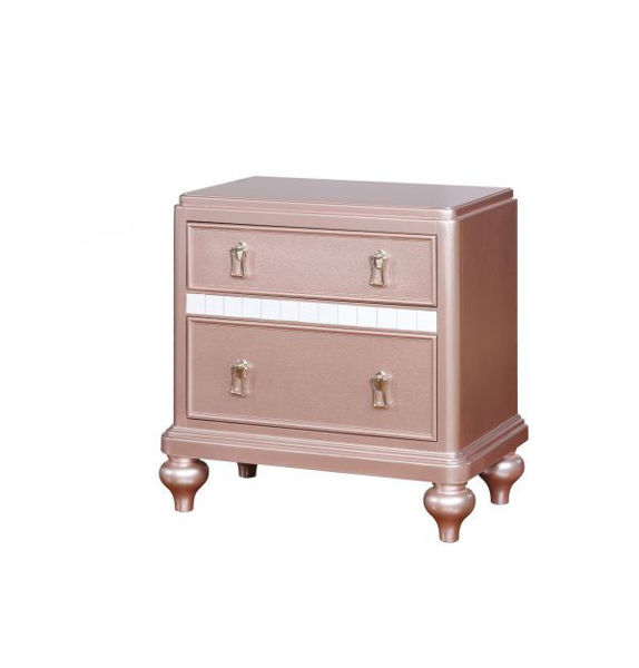 Picture of ARISTON ROSE GOLD NIGHTSTAND
