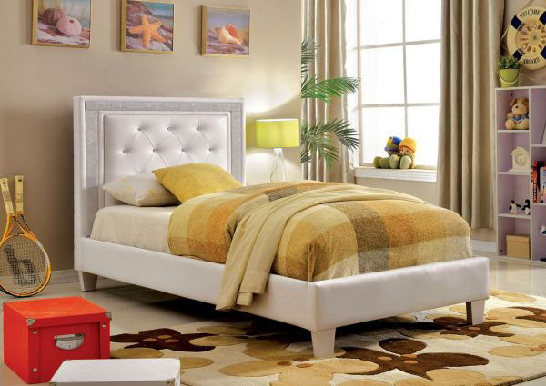 Picture of TWIN BED FOOTBOARD, RAIL