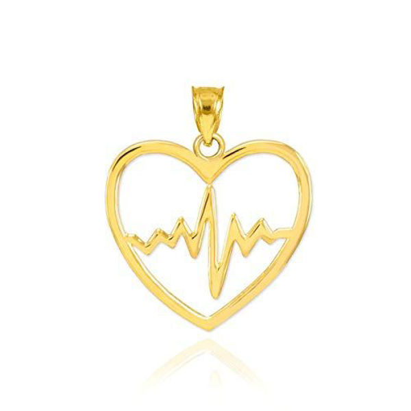 Picture of GOLD LIFELINE PULSE HEARTBEAT