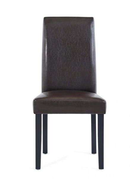 Picture of BROWN DINING CHAIR