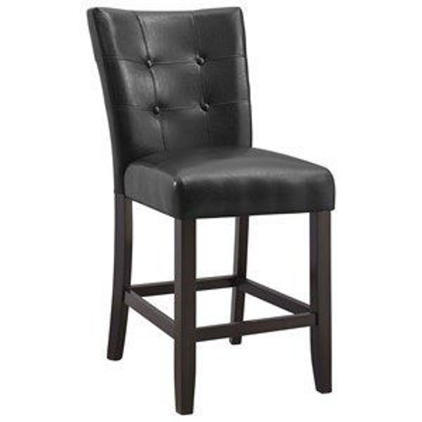 Picture of COUNTER HEIGHT CHAIR DARK