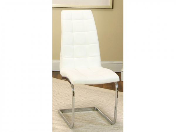Picture of PADRIA WHITE CHAIRS (PAIR)
