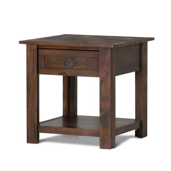 Imagen de Monroe Drawer Side End Table