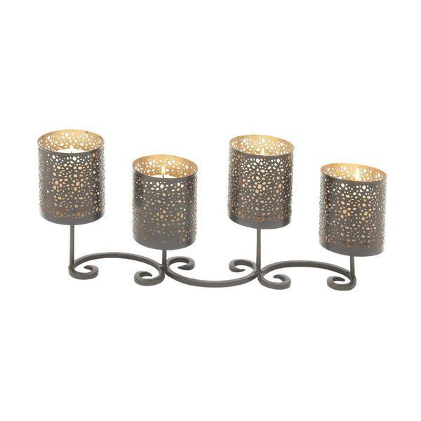 Picture of METAL CANDLE HOLDER