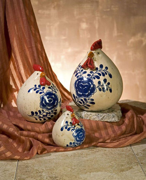Picture of SCANDINAVIAN CHICKENS-SET OF 3