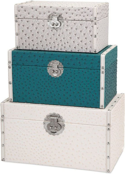 Picture of CLAIRE TRUNKS SET OF 3