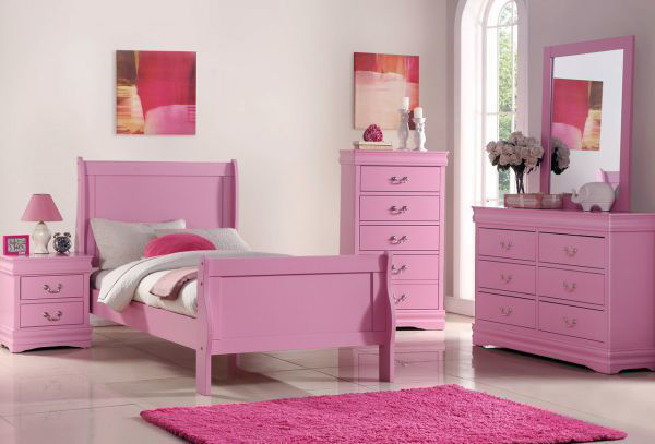 Picture of UMA 2 DRAWER NIGHTSTAND PINK