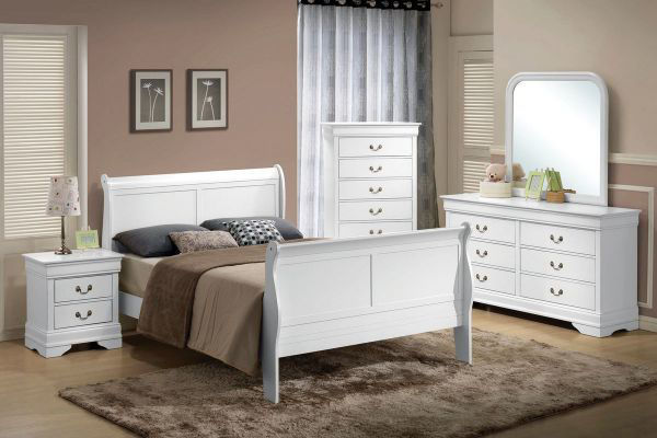 Picture of UMA TWIN BED (WHITE)
