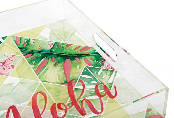 Picture of ALOHA ACRYLIC TRAYS- SET OF 3