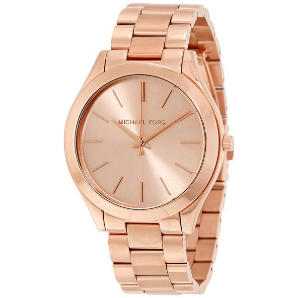 Picture of RUNWAY ROSE GOLD-TONE WATCH