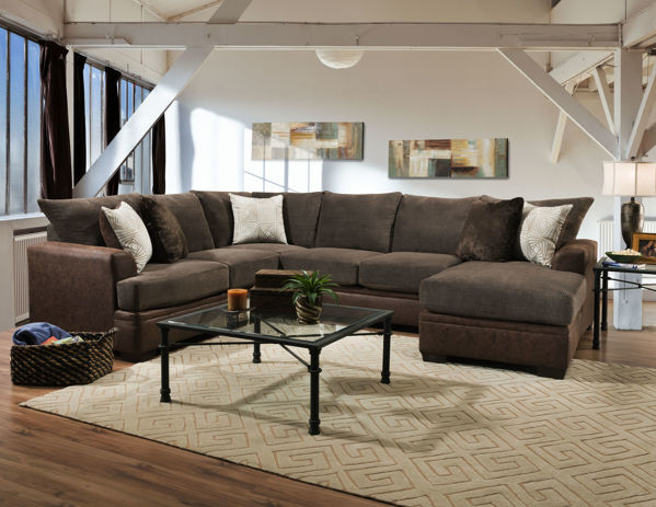Picture of AKAN MOCHA 2PC SECTIONAL