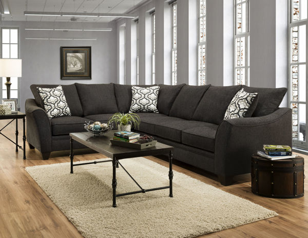 Picture of DANTE DUSK 2PC SECTIONAL