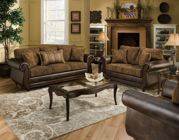 Picture of ISLE TOBACCO LOVESEAT