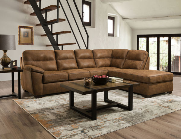 Picture of LESLEY SADDLE 2PC SECTIONAL