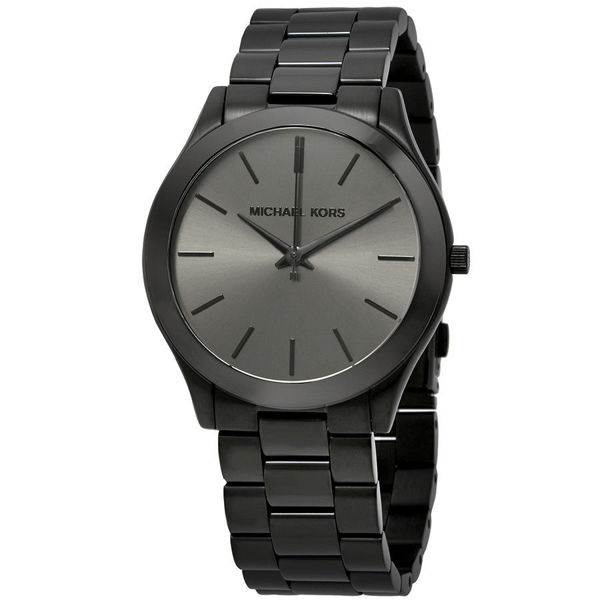 Picture of MENS BLACK RUNWAY WATCH