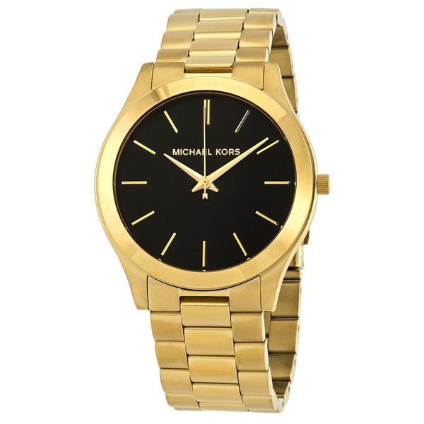 Picture of MENS GOLD RUNWAY WATCH