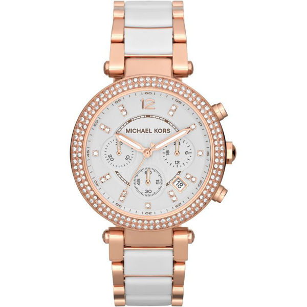 Picture of PARKER ROSE GOLD-TONE WATCH