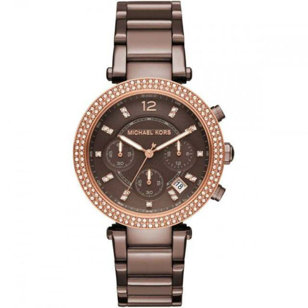 Picture of PARKER WOMENS WATCH BROWN