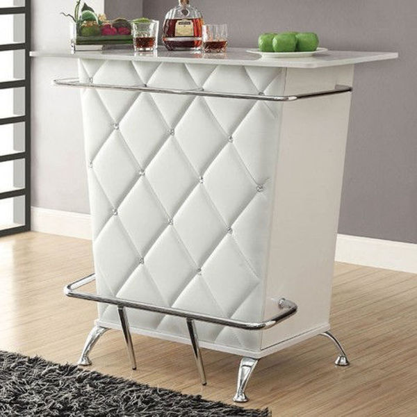 Picture of FUERO BAR TABLE WHITE