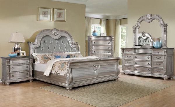 Picture of CHARLOTTE SILVER KING 5PC