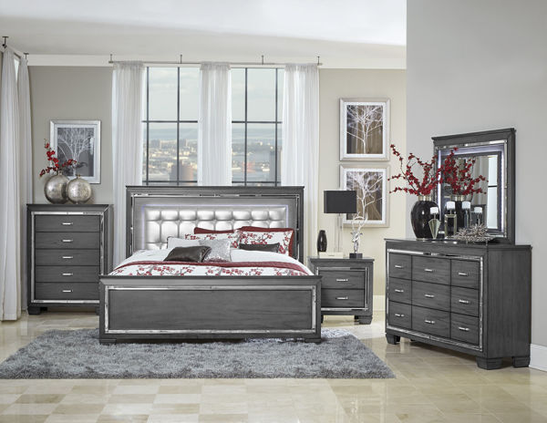 Picture of GRAY VALENTINO DRESSER