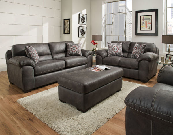 Picture of SANTA FE GRAY/RENO  SOFA