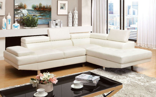 Picture of KEMINA SECTIONAL WHITE