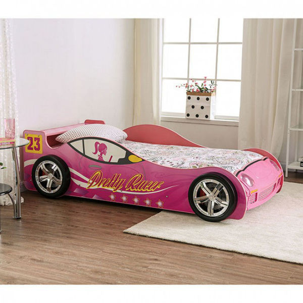 Picture of PRETTY IN PINK CAR BED