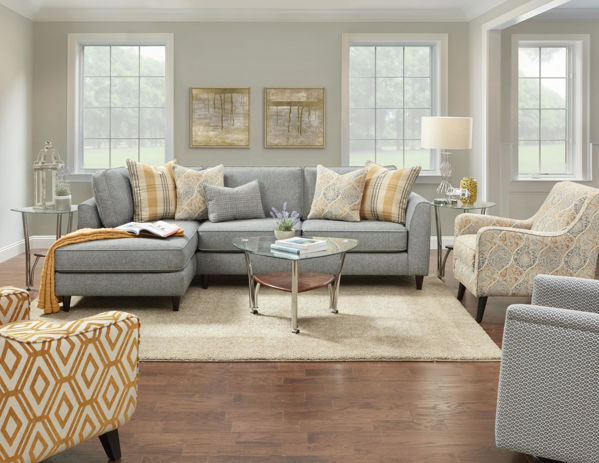 Picture of PAPERCHASE FLANNEL  SECTIONAL