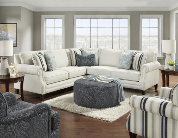 Picture of SWEATER BONE SECTIONAL 3PC