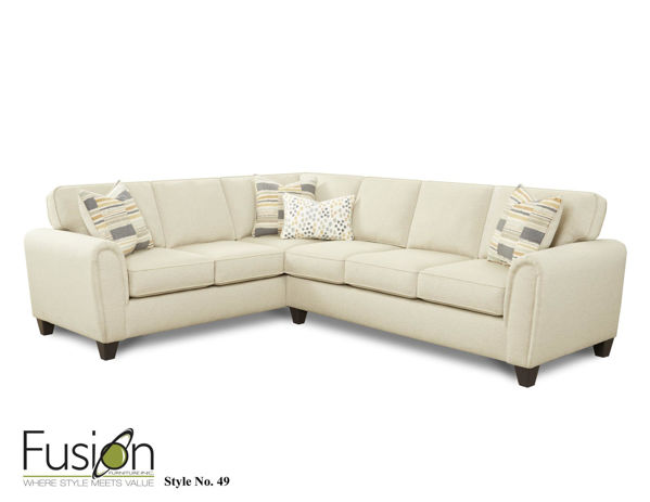 Picture of MAX LINEN 2PC SECTIONAL