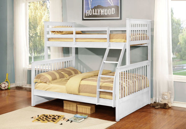 Picture of PALOMA WHITE TWIN/FULL BUNKBED