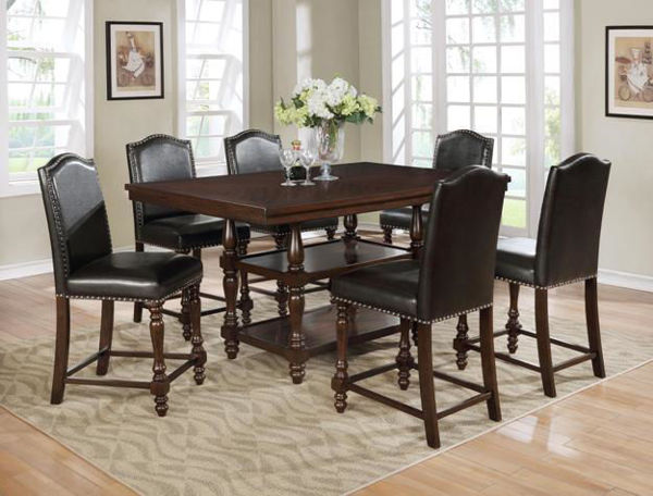 Picture of LANGLEY 7PC DINETTE WITH 6